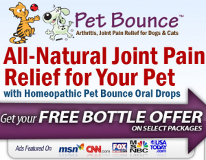 Pet Bounce Free Bottle